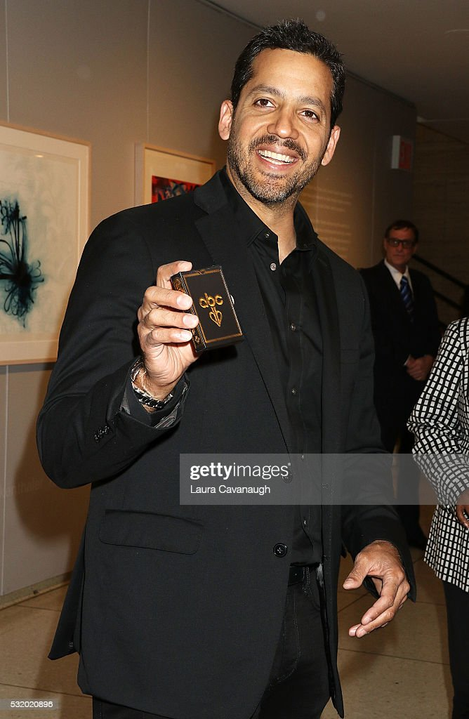 David Blaine attends 2016 ABC Upfront at David Geffen Hall on May 17, 2016 in New York City.