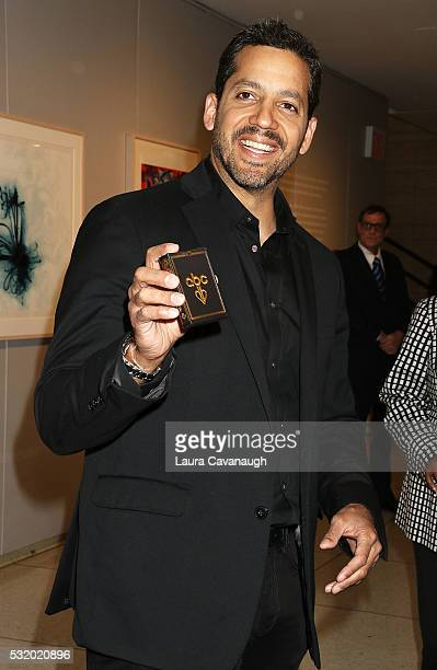 David Blaine attends 2016 ABC Upfront at David Geffen Hall on May 17 2016 in New York City