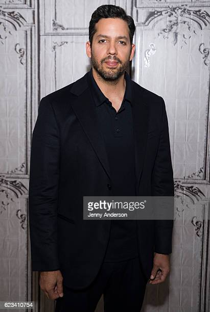 David Blaine attends AOL Build Series at AOL HQ on November 15 2016 in New York City