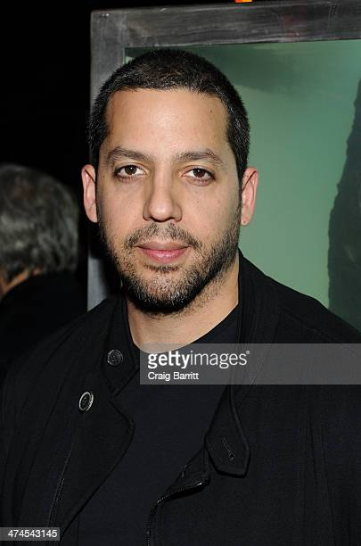 David Blaine attends the 2014 Turtle Ball at The Bowery Hotel on February 23 2014 in New York City