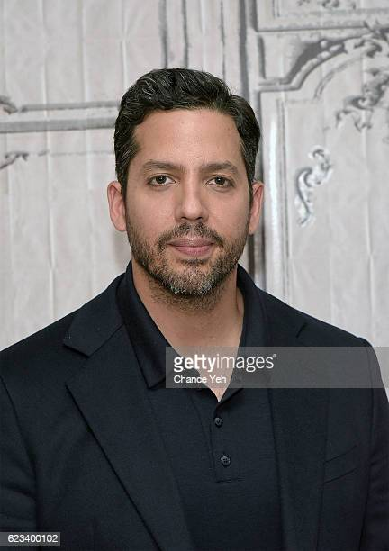 David Blaine attends The Build Series to discuss his new special 'David Blaine Beyond Magic' at AOL HQ on November 15 2016 in New York City