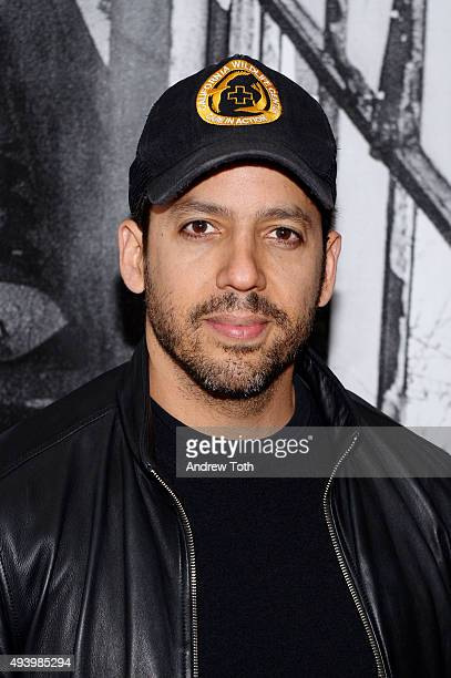 David Blaine attends the 'Ellis' New York premiere on October 23 2015 in New York City