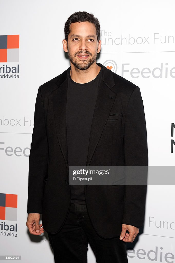 <a gi-track='captionPersonalityLinkClicked' href=/galleries/search?phrase=David+Blaine&family=editorial&specificpeople=165238 ng-click='$event.stopPropagation()'>David Blaine</a> attends the Lunchbox Fund Fall Fete 2013 at Buddakan on October 9, 2013 in New York City.