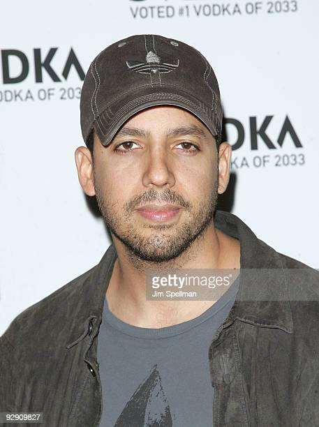 David Blaine attends 'The Messenger' Premiere at on November 8 2009 in New York City