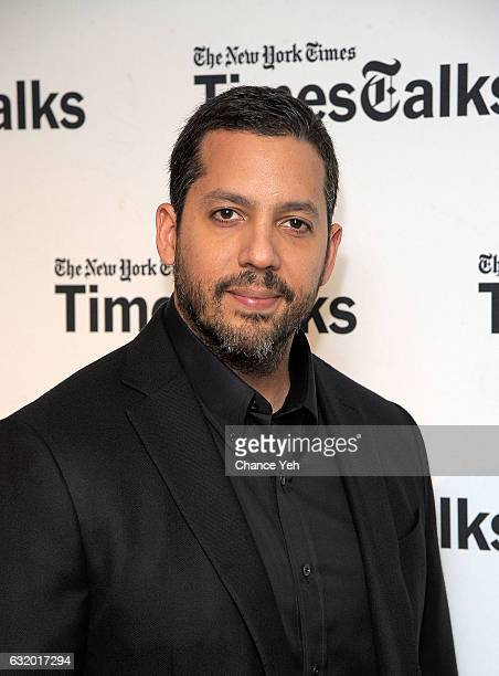 David Blaine attends TimesTalks at Florence Gould Hall on January 18 2017 in New York City