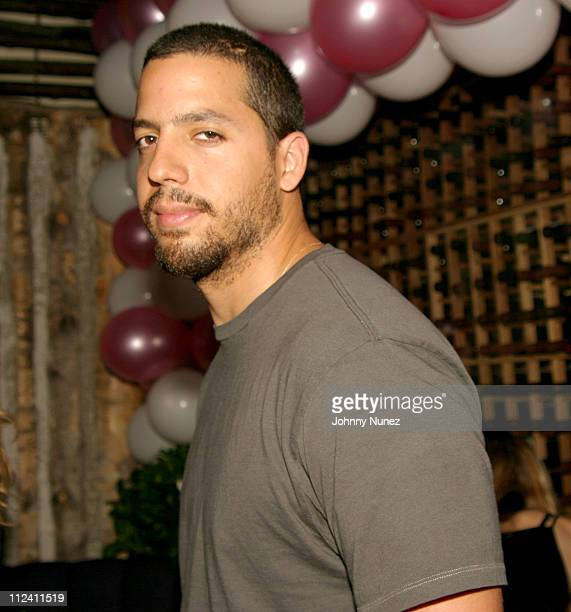 David Blaine during Ana Beatriz Barros Birthday Party May 28 2004 at Butter in New York City New York United States