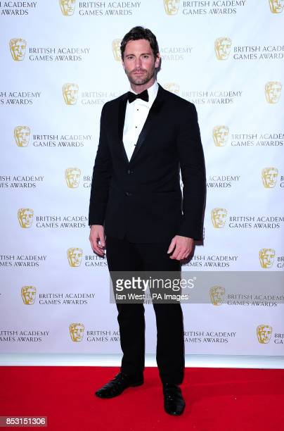 David Blakeley attending the British Academy Games Awards at Tobacco Dock London