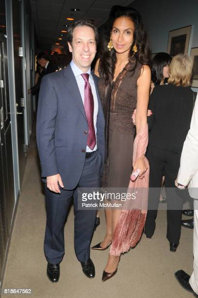 David Blank and Suan Fales Hill attend THE SCHOOL OF AMERICAN BALLET Workshop Performance Benefit at The School of American Ballet on June 8 2010 in...