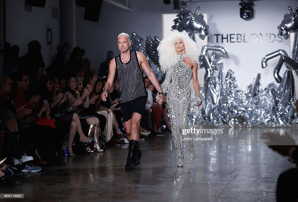 The Blonds - Front Row & Backstage - September 2016 MADE Fashion Week