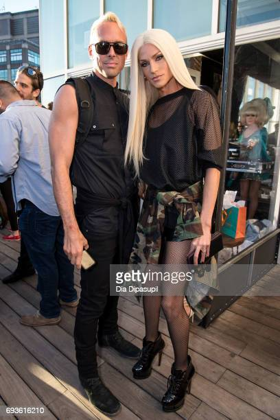 David Blond and Phillipe Blond attend the Daily Front Row Summer Premiere Party at Jimmy At The James Hotel on June 7 2017 in New York City