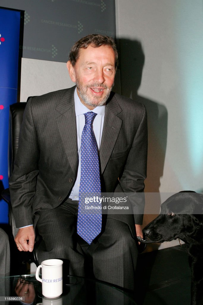 David Blunkett during Turn the Tables Charity Lunch - October 17, 2005 at The Savoy in London, Great Britain.