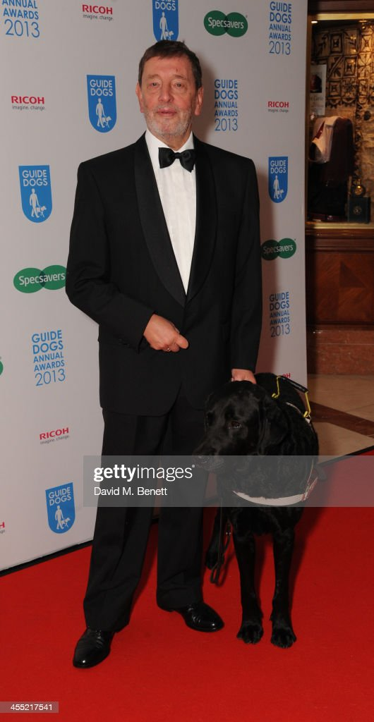 David Blunkett MP attends the Guide Dogs UK Annual Awards 2013 at the London Hilton on December 11, 2013 in London, England.