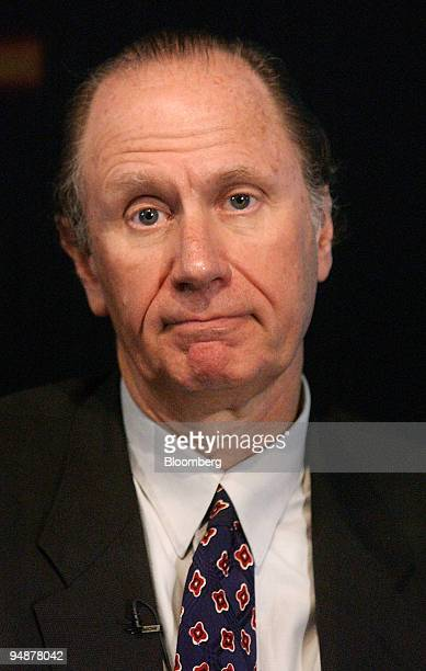 David Bonderman founding partner Texas Pacific Group speaks at a private equity conference at the Bloomberg offices in London Tuesday February 24 2004