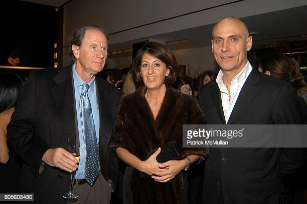 David Bonderman Marina Piano and Marco Franchini attend BALLY New York Flagship ReOpening With W Magazine and Central Park Conservancy at Bally New...
