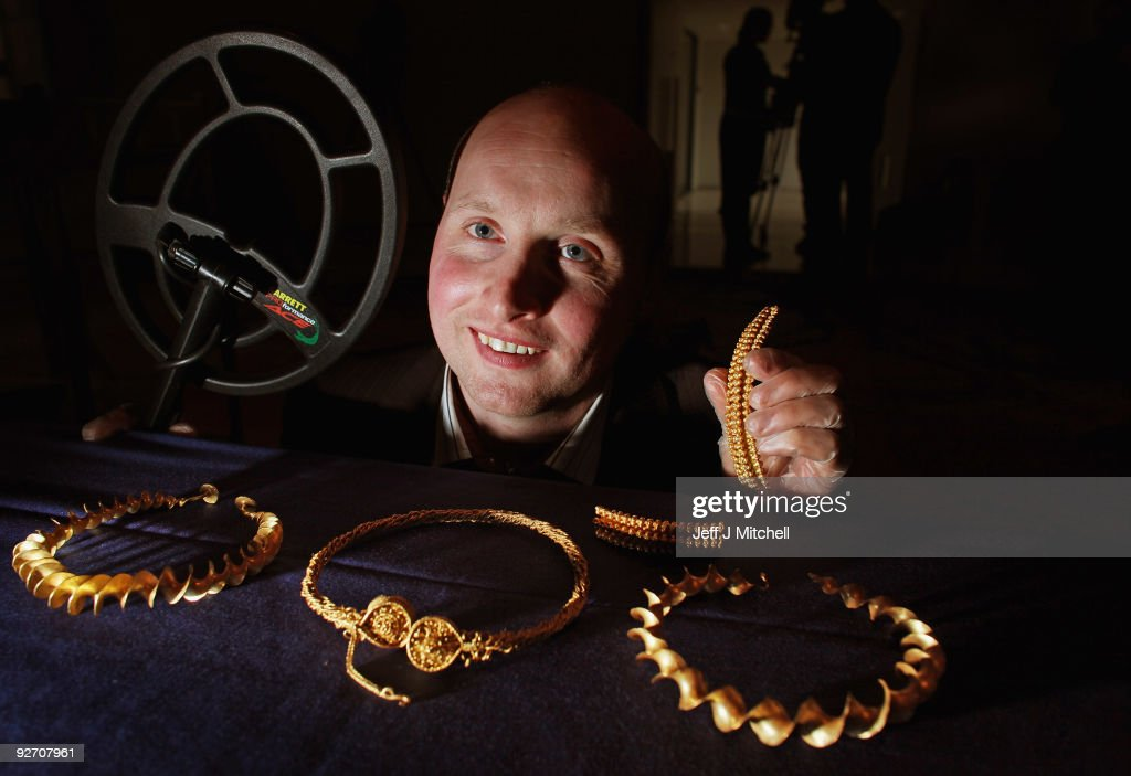 Ancient Torc Neckbands Unearthed In Stirling