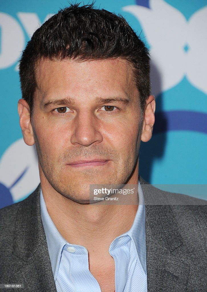 <a gi-track='captionPersonalityLinkClicked' href=/galleries/search?phrase=David+Boreanaz&family=editorial&specificpeople=214055 ng-click='$event.stopPropagation()'>David Boreanaz</a> arrives at the 2013 Fox Fall Eco-Casino Party at The Bungalow on September 9, 2013 in Santa Monica, California.