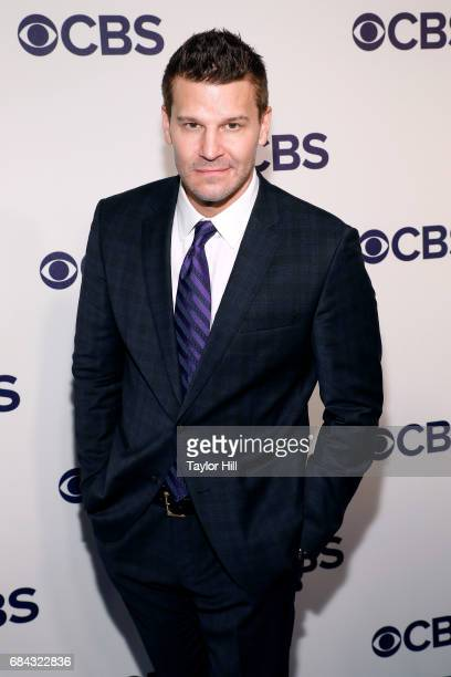 David Boreanaz attends the 2017 CBS Upfront at The Plaza Hotel on May 17 2017 in New York City