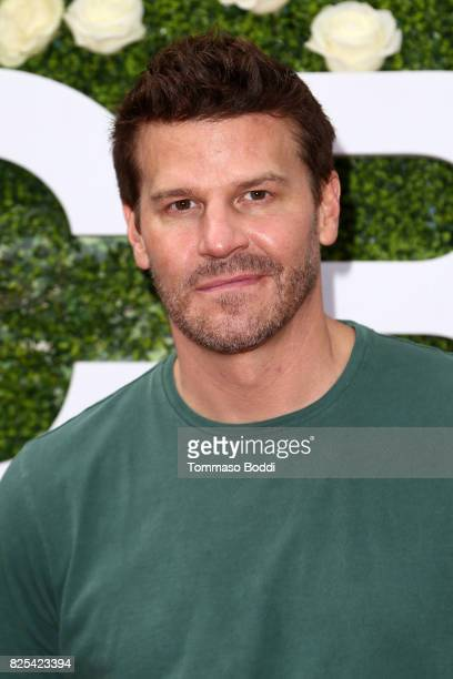 David Boreanaz attends the 2017 Summer TCA Tour CBS Television Studios' Summer Soiree at CBS Studios Radford on August 1 2017 in Studio City...