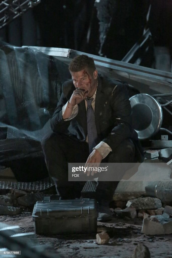 David Boreanaz in 'The Final Chapter: The End in the End' series finale episode of BONES airing Tuesday, March 28 (9:01-10:00 PM ET/PT) on Fox.