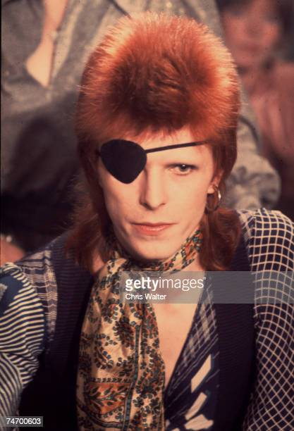 David Bowie 1974 in Amsterdam Netherlands