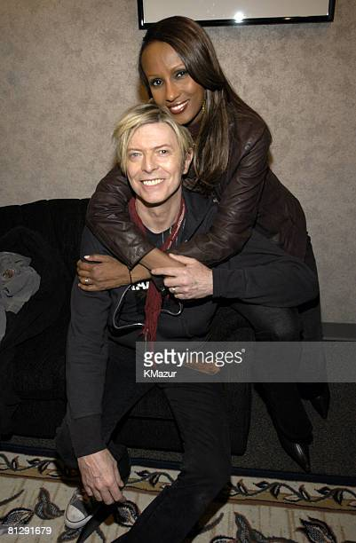 David Bowie and Iman