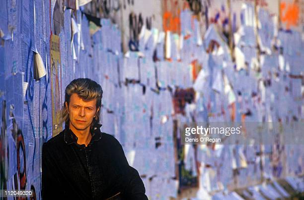 David Bowie at the Berlin Wall 1987