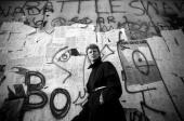 David Bowie at the Berlin Wall 1987