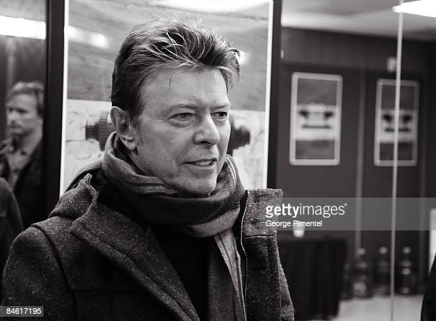 David Bowie attends the premiere of 'Moon' during the 2009 Sundance Film Festival at Eccles Theatre on January 23 2009 in Park City Utah