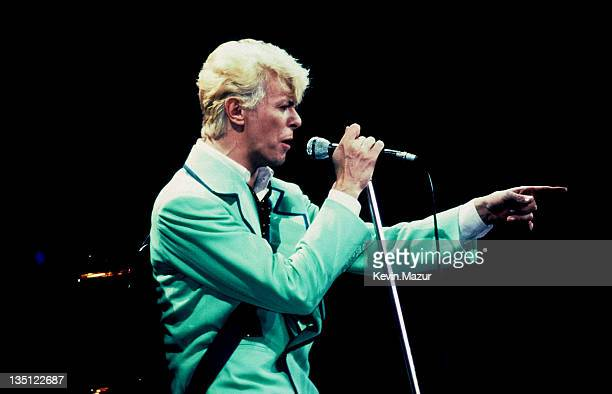 David Bowie circa 1983 during David Bowie File Photos in Wembley London