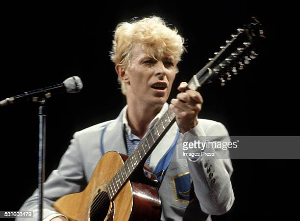 David Bowie circa 1983 in New York City