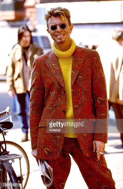 David Bowie circa 1994 during David Bowie File Photos in Wembley London