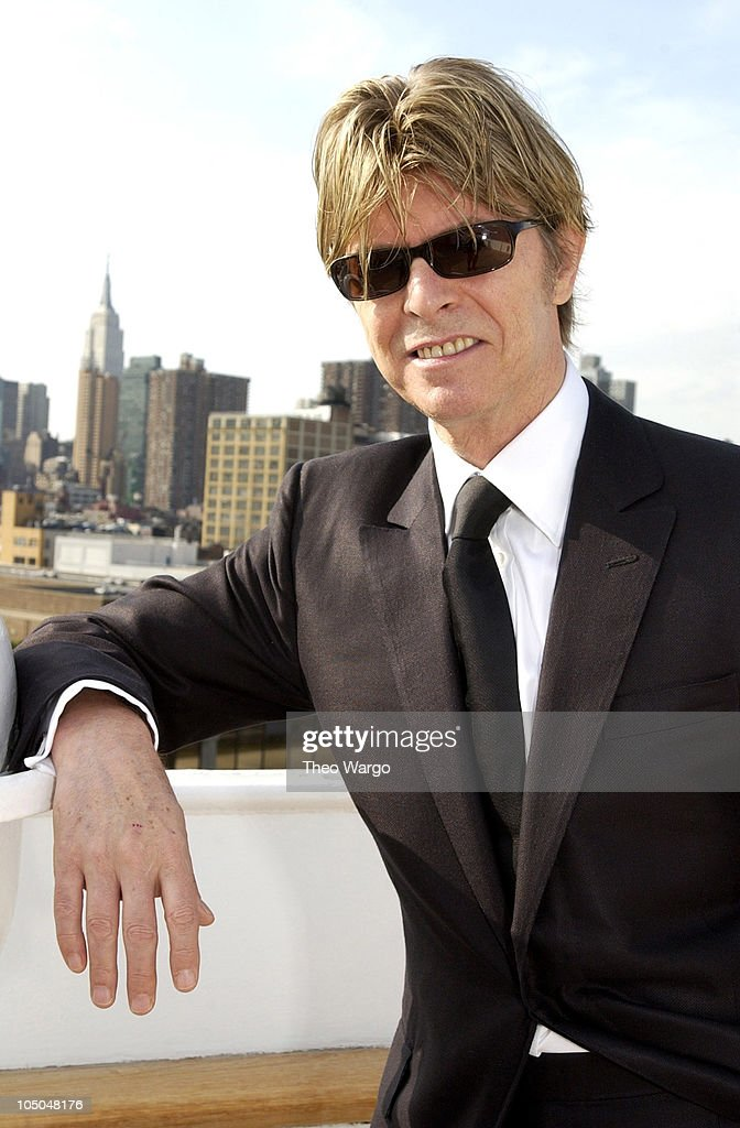 David Bowie during David Bowie disembarks the QE2 in New York City from England. David Bowie will begin his North American tour on the Area2 Music Festival at New York Pier 62 in New York City, New York, United States.