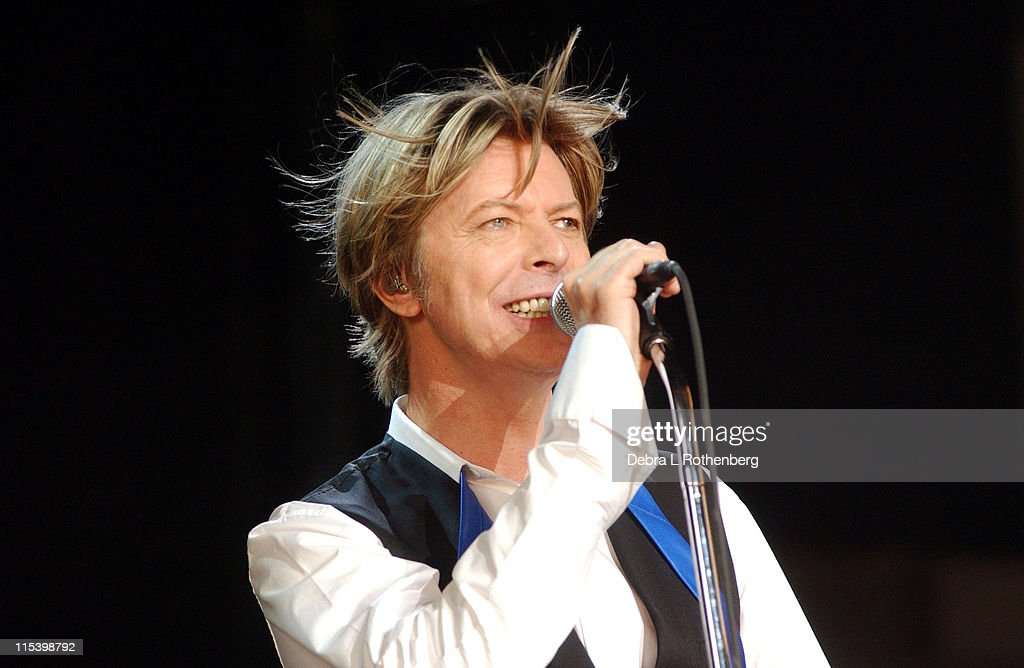 david bowie in concert july 31 2002 getty images