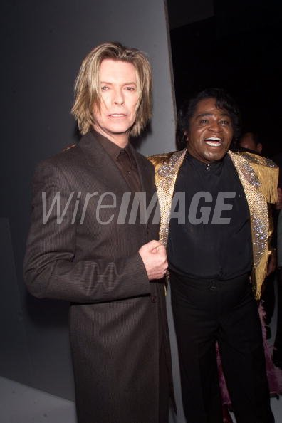 David Bowie James Brown during...