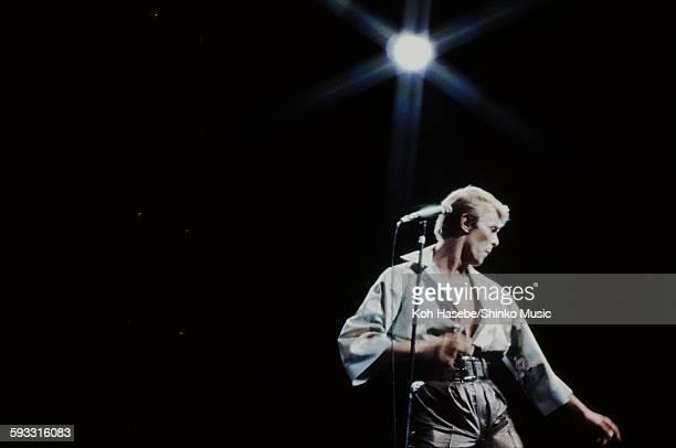 David Bowie live at NHK Hall Tokyo December 12 1978