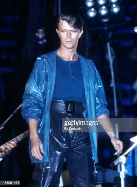 David Bowie performs at the Oakland Coliseum in Oakland California April 5 1978