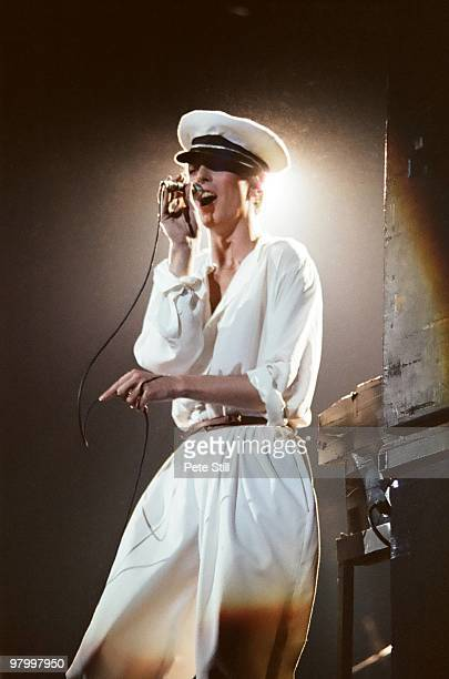 David Bowie performs on stage at Earls Court Arena on August 28th 1978 in London England