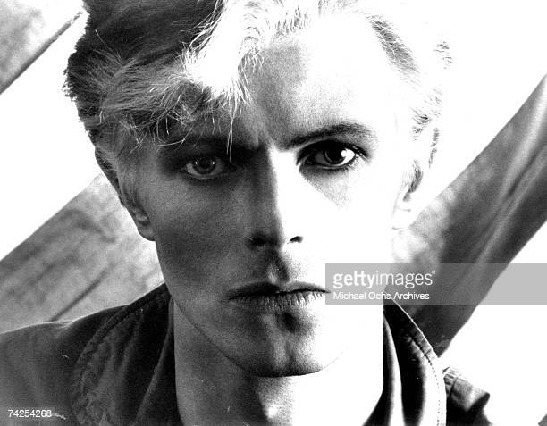 David Bowie poses for a portrait in 1976
