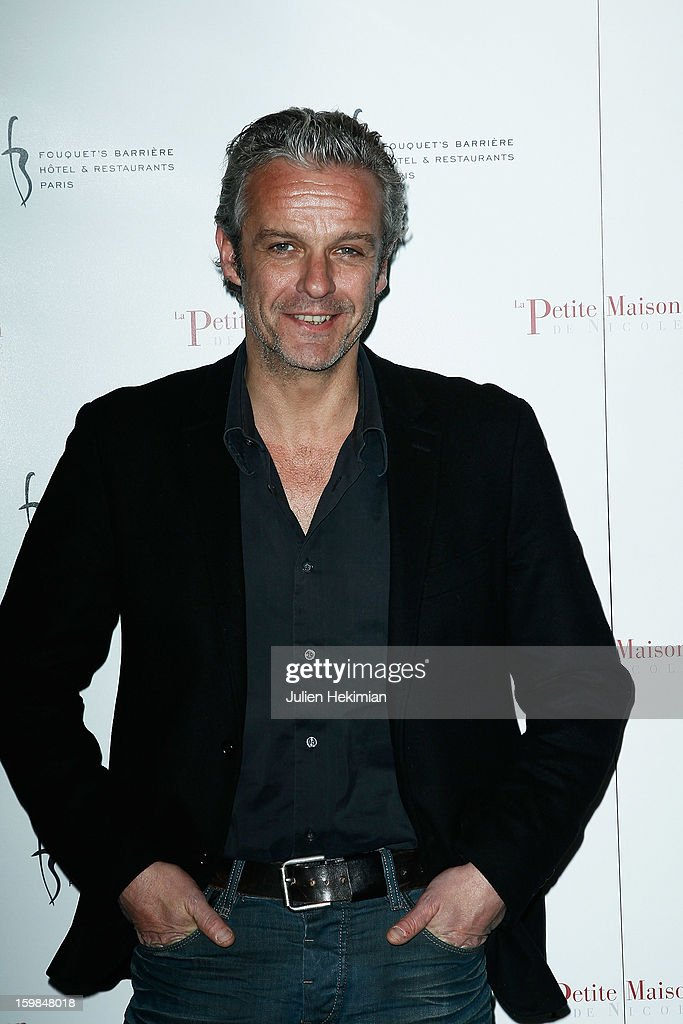 David Brecourt attends 'La Petite Maison De Nicole' Inauguration Photocall at Hotel Fouquet's Barriere on January 21, 2013 in Paris, France.