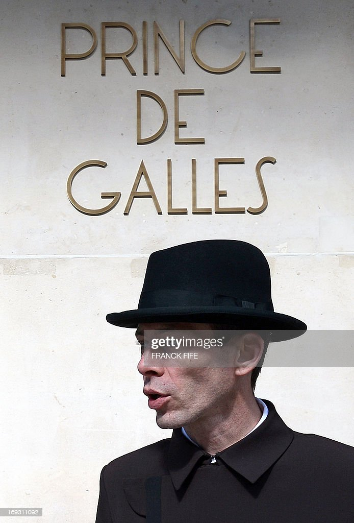 David Bricaud, a valet at the luxury hotel 'Prince de Galles' (Prince of Wales), is pictured on May 22, 2013, at the hotel in Paris. The Prince de Galles, on the Avenue George V in Paris reopened on May 16, 2013 under the 'Luxury Collection' brand after two years of renovation. The luxury hotel, with 159 rooms, a restaurant and bar, was built in 1928 and was closed since February 2011. The hotel received a fifth star on its reopening.