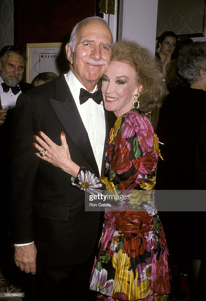 David Brown and wife Helen Gurley Brown during The Fashion Group International's 6th Annual 'Night of 100 Stars' at The Plaza Hotel in New York City, New York, United States.