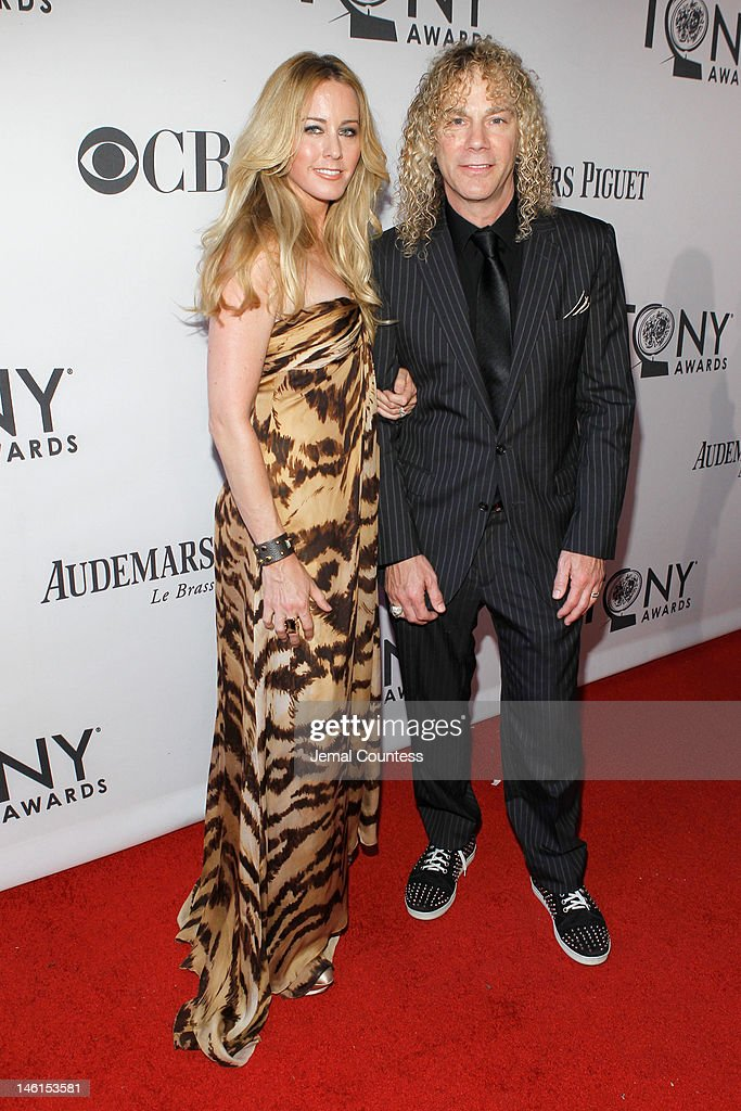 <a gi-track='captionPersonalityLinkClicked' href=/galleries/search?phrase=David+Bryan&family=editorial&specificpeople=211281 ng-click='$event.stopPropagation()'>David Bryan</a> and guest attend the 66th Annual Tony Awards at The Beacon Theatre on June 10, 2012 in New York City.