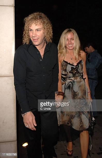 David Bryan and guest during Celebrity Sightings at Nobu June 12 2006 at Nobu London in London United Kingdom