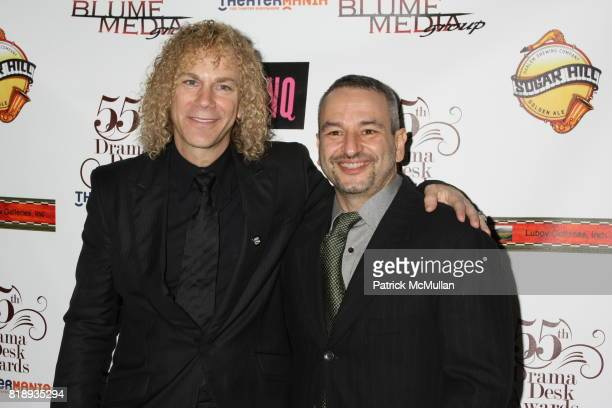 David Bryan and Joe DiPietro attend 55th Annual DRAMA DESK AWARDS at FH LaGuardia Concert Hall at Lincoln Center on May 23 2010 in New York City