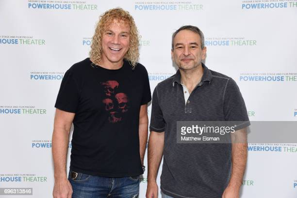 David Bryan and Joe DiPietro attend the 33rd Powerhouse Theater Season Press Meet Greet at Ballet Hispanico on June 15 2017 in New York City