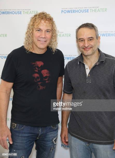 David Bryan and Joe DiPietro attends the Media Day for 33rd Annual Powerhouse Theater Season at Ballet Hispanico in New York City