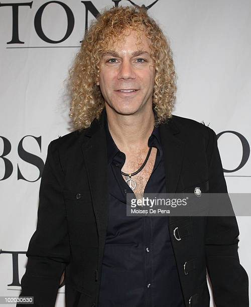 David Bryan attends the Tony eve cocktail party at the Intercontinental New York Barclay on June 12 2010 in New York City