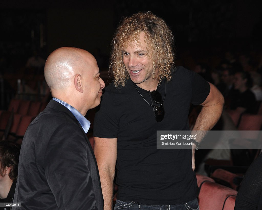 David Bryan of Bon Jovi attends rehearsals for the 64th Annual Tony Awards at Radio City Music Hall on June 13 2010 in New York City