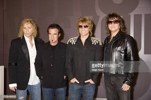 David Bryan Tico Torres Jon Bon Jovi and Richie Sambora of Bon Jovi