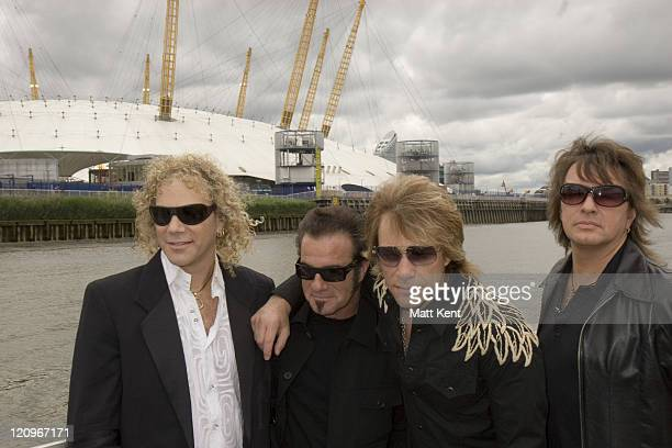 David Bryan Tico Torres Jon Bon Jovi and Richie Sambora of Bon Jovi
